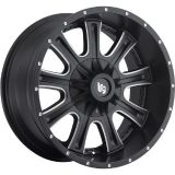 Purchase 20x9 Black Milled LRG 105 6x5.5 & 6x135 +18 Rims LT285/65R20 Tires motorcycle in Saint Charles, Illinois, United States, for US $2,159.36