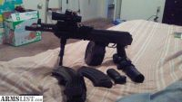 For Sale: Ak pistol with drum magazine