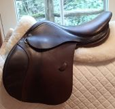 "Beautiful 16.5"" Tad Coffin A5 Saddle with Smart Ride Technology 2012"