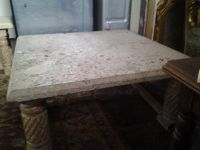$850, Rock Coffee Table and Rock Side Table