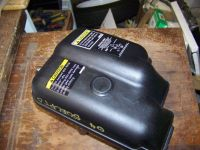 Purchase GOOD USED MERCURY MARINER OUTBOARD 50 ELPTO AIR BOX motorcycle in Scottsville, Kentucky, United States, for US $19.99