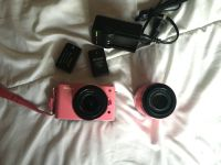 Nikon 1 J1 Camera with 10-30mm & 30-110mm Lenses- Pink