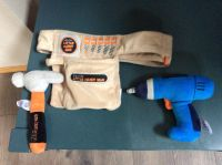 Plush tool belt with tools- $5
