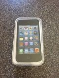 Apple IPod Touch 16GB Black with pink Garmin Case