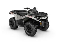 2017 Can-Am Outlander DPS 650 Utility ATVs Lancaster, NH