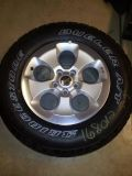 5 Jeep Wrangler Unlimited Sahara rims and tires