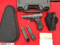 For Sale/Trade: Walther PPQ 9mm Ported Slide, Trijicon NS, 3 hi-cap 21+1 mags, flared magwel, ammo, holster, extras