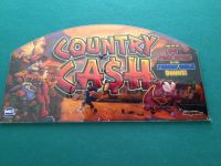 slot machine glass / art from country cash game