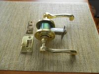 Baldwin brass privacy lever sets (Lake Charles)