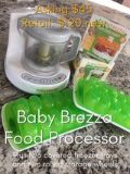 Baby Brezza Food Processor And Storage System