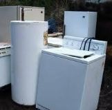 Free appliance, battery, air conditioner removal and haul away today
