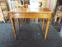 Bench*Top Open*All Wood*Study*Ex Cond