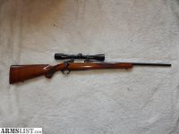 For Sale: $690=Ruger M77 High Gloss Red Pad 243