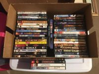 DVD Movies $1 each or $30 for all 42