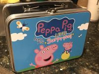 Brand new Peppa Pig metal lunch box