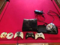 Xbox 360 320gb 4 controllers, 40 games MUST GO TODAY