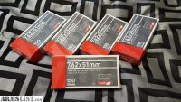 For Sale: FS: 5x 20ct .308 / 7.62x51mm 150gr FMJ Boat Tail Aguila Ammo