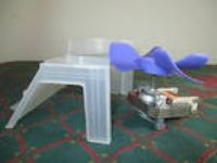 Sharp Microwave RMOTE A346WREO Fan Motor Housing Assembly