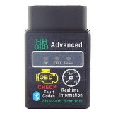 Car Diagnostic Scanner Tool Bluetooth OBD2 CAN BUS & Engine Code Reader NEW
