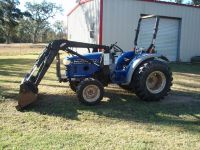 $10,000, 2005 Farmtrac 360DTC tractor with loader