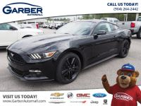 2017 Ford Mustang EcoBoost Premium 2dr Fas (Shadow Black)