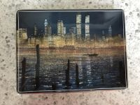 Decorative collectors Twin Towers plate