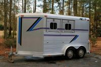 Aluminum Horse Trailer Price Reduced