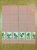 One pair of Chicken theme curtains 32 X 36