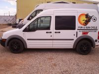 2010 Ford Transit Connect-Mini Camper/Race Van