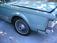 Buy 1969 lincoln mark III right front fender motorcycle in Palatka, Florida, US, for US $195.00