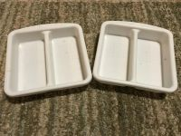 Rubbermaid organizing trays. Both for $1.00.