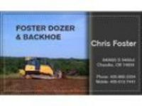 Foster dozer and backhoe