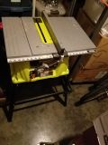 Ryobi 10 inch Tablesaw and Stand