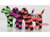Lot 3 Victoria s Secret Mini Pink Dog striped Green Orange