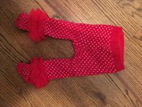 0-6 month ruffle tights like new