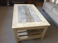 Farmhouse style coffee table and end table