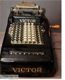 Antique victor adding machine