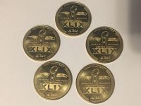 SUPERBOWL XLIX GOLD COINS (NO C.O.A.) limited # available