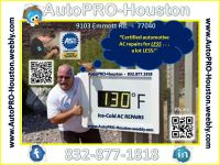 AutoPRO-Houston Air Conditioning Service and Repair