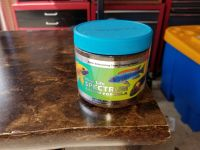 Cichlid fish food