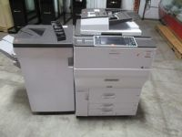 Ricoh MP C8002 Color Copier w/ Finisher RTR#7061017-01,02