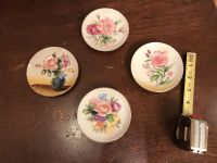 Hand painted small china plates