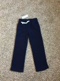 Gymboree Fleece Pants. Adjustable Drawstring Waist. Navy Blue. Size 5. Brand New with Tags.