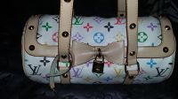 LOUIS VUITTON-MONOGRAM-MULTICOLOR WHITE-SPEEDY BARREL HANDBAG