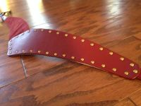 Red Betsey Johnson Belt New w/ Tags - sz S/M