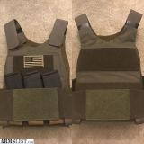 For Sale: Ferro concepts slickster plate carrier with Patriot Armor Level 4 plates