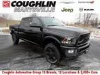 2018 RAM 2500 Black, new