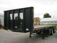 $14,900, 2005 Clark Trailers 40#39; x 102 Flatbed Moffett Forklift Trailer
