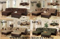 $499, 3pc Large Sectionals 112