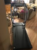 Proform Crosswalk 235s spacesaver treadmill. euc. folds. see other pics. metairie pickup only. hardly used. inclines